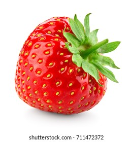 Strawberry. Strawberry isolated on white background.