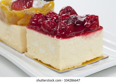 Strawberry and Mango bakery