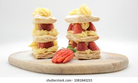 strawberry milf cake