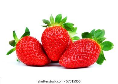 strawberry pile