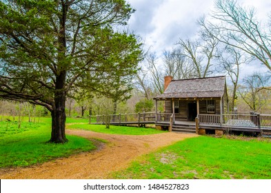 Strawberry Plains Audubon Center. Holly Springs of Mississippi State of US.