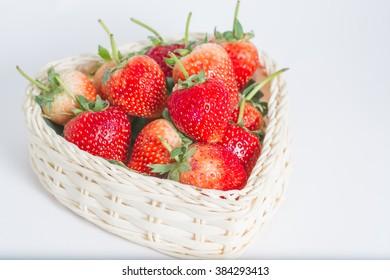 Strawberry 's basket