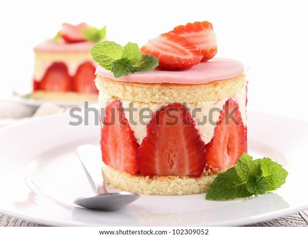 Râteau aux fraises