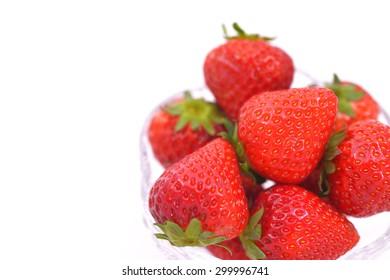 Strawberry/Fresh and juicy fruit