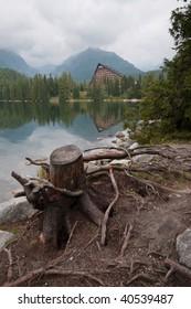 Strbske pleso Lake, High Tatras, Slovakia