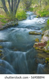 A Stream above Rifle Falls State Park in western Colorado