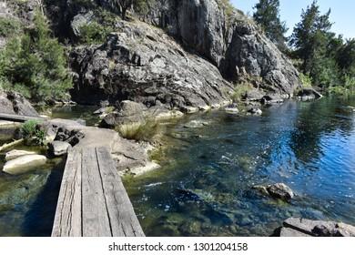 Stream crossing on the Murrumbidgee River