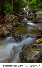 stream just below the rešov waterfall