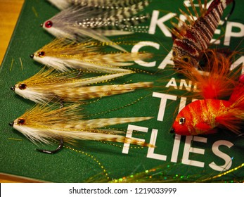 Streamer flies for predatory fish