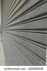 Streel shutter door