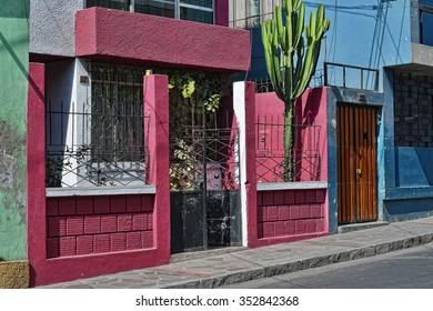 Street in Arequipa, Peru.