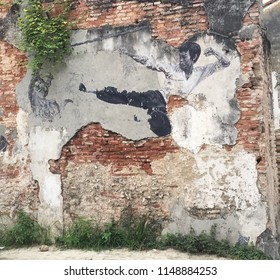 Street Art which is very Common in Penang Island in Malaysia, and that is what Penang is famous for, 24/5/2017