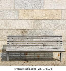 Magnificent Plain Wooden Bench Images Stock Photos Vectors Shutterstock Uwap Interior Chair Design Uwaporg