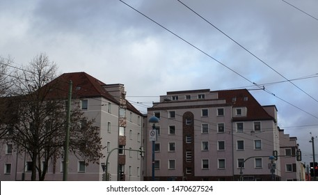 street of Bielefeld in NRW