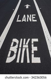 Street Bike Lane