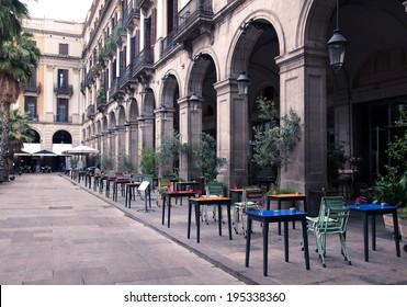 Imágenes Fotos De Stock Y Vectores Sobre Barcelona Terrazas