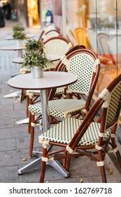 street cafe in Stockholm