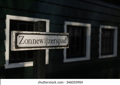 A street called Zonnewijzer