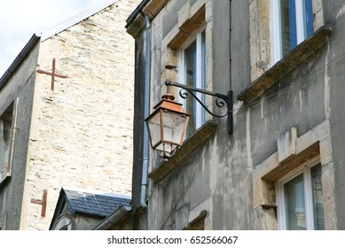 Street in Cherbourg-Octeville, Normandy, France