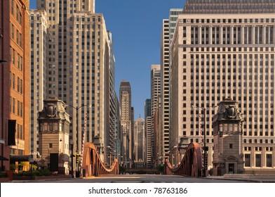 Street of Chicago.