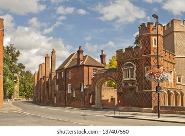 Street in Eton, which is situated near Windsor in England