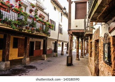 Street of Ezcaray (La Rioja, Spain)