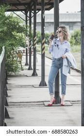 Street fashion chic