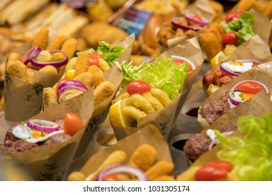 street food in Barcelona