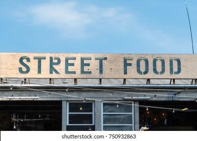 street food fair in Aarhus.