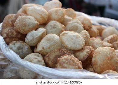 street food golgappe and tikki