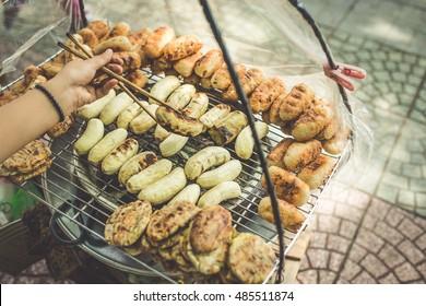 Street Food in Saigon, Vietnam.