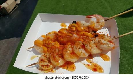 street food shrimp