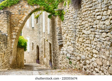 Street of Gordes, Provence, France