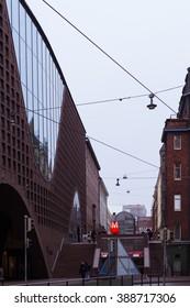 Street in Helsinki, Finland