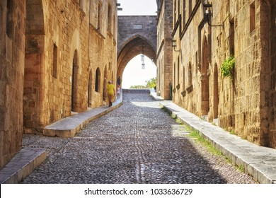 Street of the Knights in Rhodes city
