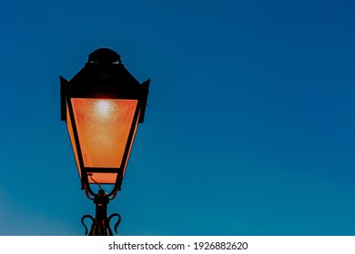 Street lamp at the blue sky background - Shutterstock ID 1926882620