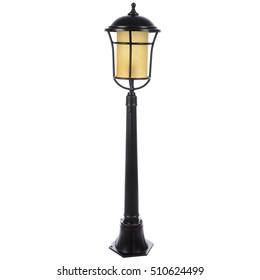 street lamp isolated