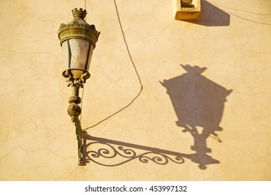 street lamp in morocco africa old lantern   the outdoors and decoration