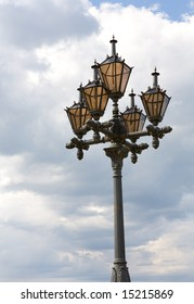 Street lamp in Tallinn, Estonia