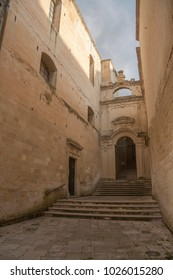Street of Lecce, Southern Italy