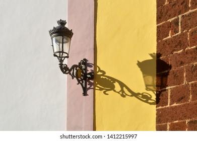 street light in la laguna tenerife