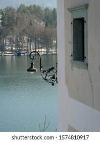 Street light Lake Bled Slovenia