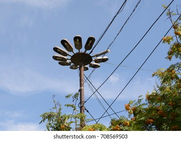 Street lighting lantern