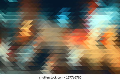 Street Lights.Pixelart.
