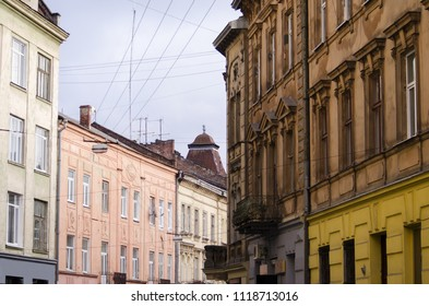 Street Lviv (Lvov) in the early morning