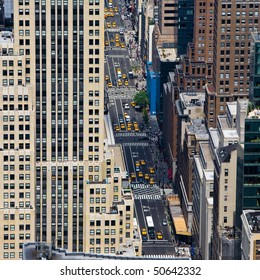 street of Manhattan in New York City