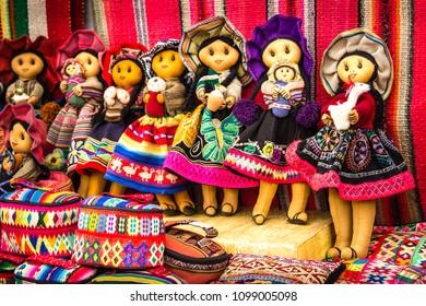 Street Market in Peru