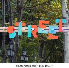 Street Market Sign