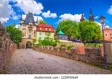 Street of Meissen, Germany