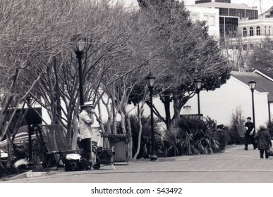 """street musician in new orleans """"french quarter"""""""
